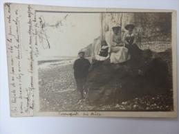 Carte Photo De Varengeville-sur-Mer, écrite Le 24/11/1904. - Varengeville Sur Mer