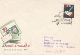 Journée Du Timbre - Lettres - Plume - Pologne - Lettre De 1958 - Oblitération Warszawa - - 1944-.... République