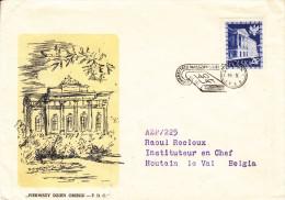 Livres - Université - Pologne - Lettre De 1958 - Oblitération Warszawa - - 1944-.... République
