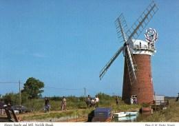 Postcard - Horsey Windmill, Norfolk Broads. 2DS56 - Moulins à Vent