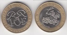 **** MONACO - 10 FRANCS 1998 - SCEAU DES GRIMALDI - RAINIER III  **** EN ACHAT IMMEDIAT !!! - Monaco