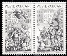 Vatican 0634/35** Gregoire XI D'Avignon  MNH - Neufs