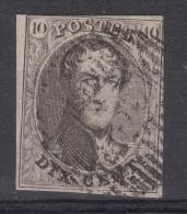 Nr 10, Stempel D35, ´Mechelen´ (X10693) - Postmarks - Lines: Distributions