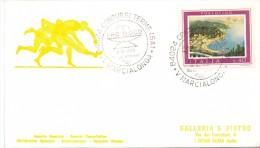 FDC - MARCIALONGA -  84024 CONTURSI TERME 8.8.1976 - SERVIZI DISTACCATI - 1946-.. République
