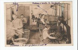 MEZIN (L ET G) 6 INDUSTRIE DU BOUCHON MACHINE A GRANDE PRODUCTION (BELLE ANIMATION) - France