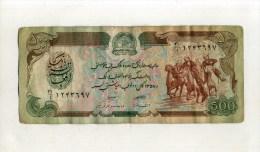 - AFGHANISTAN . BILLET 500 A. - Afghanistan