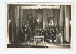CASTELSARRASIN PHOTO D'UNE PIECE  DE THEATRE 1945 - Lieux