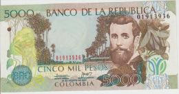 Colombia 5000 Peso 2007 Pick 452 UNC - Colombia