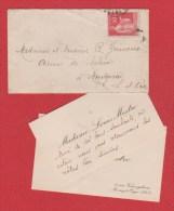 Enveloppe Pour Montgerou - 1921-1960: Modern Tijdperk
