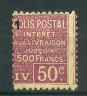 FRANCE ( COLIS POSTAUX ) :  Y&T N°  73  TIMBRE  NEUF  SANS  TRACE  DE  CHARNIERE  ,  A  VOIR . - Nuovi