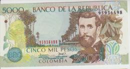 Colombia 5000 Peso 2006 Pick 452 UNC - Colombia
