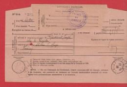 Avis De Reception  -- Départ St Etienne -- 20-6-1933 - Documents De La Poste