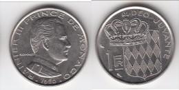 **** MONACO - 1 FRANC 1960 RAINIER III  **** EN ACHAT IMMEDIAT !!! - 1960-2001 Nouveaux Francs