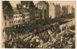 Leuven, Louvain, Berchmans Hulde 1921 (pk21755) - Leuven