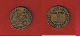 --- 2 francs 1926  --  Assez Rare  --  �tat  TB+