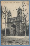 CPA Lille Le Palais Rameau Voy Sem 1921 - Lille