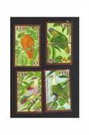 Fiji  Islands 2009 Doves - Birds  Set MNH - Fidji (1970-...)