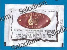 29682 FINAL DI RERO  COPPARO IOLANDA - BUSTINA DI ZUCCHERO VUOTA - Sugar Empty - Zucchero (bustine)