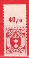MiNr. 96 Xx OR  Deutschland Freie Stadt Danzig - Danzig