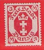 MiNr. 104 Xx   Deutschland Freie Stadt Danzig - Danzig