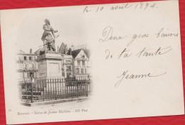 60 - BEAUVAIS - Statue Jeanne Hachette - Datée De 1894 - Nuage, Précurseur TBE - R/V - Beauvais