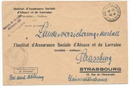 B655 - MULHOUSE  - 14 Aout 1940 - Dernière Poste Française - Alsace - Haut Rhin - - Alsace Lorraine