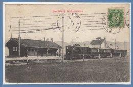 NORVEGE -- Baardshaug Iernbanestation - Norvegia