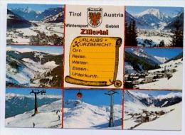 ZILLERTAL  Karte Multiview - Zillertal