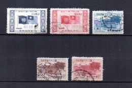 Taiwán  ( Formosa )     1955  .-   Y&T  Nº    196 - 198 - 199/201 - 1945-... República De China
