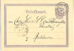 9 Januari 1875  Bk G3 Van 's-Gravenhage Naar Apeldoorn - Postal Stationery