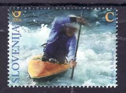 2054/ Slowenien Slovenia 2006 Mi.No. 586 ** MNH Rowing Rudern Kajak Kanu Weltmeisterschaften Der Junioren Solkan - Slowenien
