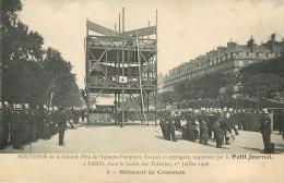 Paris : Les Pompiers - Batiment De Concours - Sapeurs-Pompiers