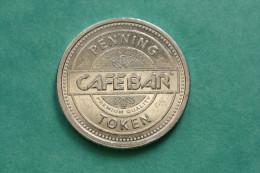 """Jeton """"Cafe Bar - Fenning Token"""" Jeton De Distributeur De Café - Non Classés"""