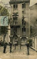 Paris : Les Pompiers  - Sauvetage - Sapeurs-Pompiers