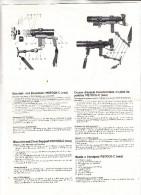GEWEHR - PISTOCK-C Schulter- Und Bruststativ, Instruktionsblatt, Mehrsprachig - Waffenschiessen