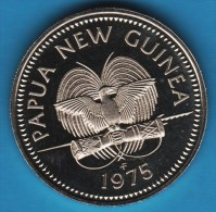 PAPUA NEW GUINEA 10 Toea 1975 - Elizabeth II  ANIMAL Couscous (Phalanger Maculatus). - Papúa Nueva Guinea