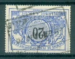"""BELGIE - OBP Nr TR 17 - Cachet  """"ETTERBEEK-STATION"""" - (ref. VL-9881) - 1895-1913"""