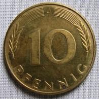 GERMANY 1989J - 10 PFENNIG - [ 7] 1949-… : FRG - Fed. Rep. Germany