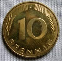 GERMANY 1991J - 10 PFENNIG - [ 7] 1949-… : FRG - Fed. Rep. Germany