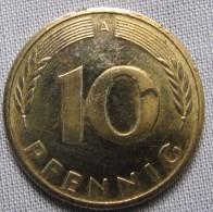 GERMANY 1993A - 10 PFENNIG - [ 7] 1949-… : FRG - Fed. Rep. Germany