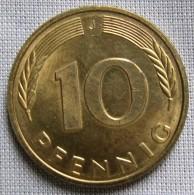 GERMANY 1996J - 10 PFENNIG - [ 7] 1949-… : FRG - Fed. Rep. Germany