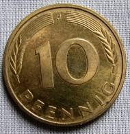 GERMANY 1992J - 10 PFENNIG - [ 7] 1949-… : FRG - Fed. Rep. Germany
