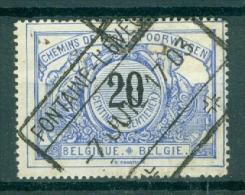 """BELGIE - OBP Nr TR 17 - Cachet  """"FONTAINE-L'ÉVÊQUE"""" - (ref. VL-9902) - 1895-1913"""