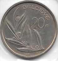 20 Francs Baudouin I 1981 FR   FDC - 1951-1993: Baudouin I