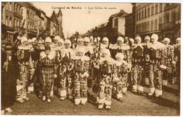 Binche, Le Carnaval, Les Gilles Le Matin (pk21787) - Binche