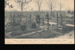 1914-15  --- Bataille De La Marne -- Fere - Champenoise -- Le Cimetiere - War 1914-18