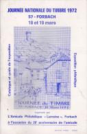 Forbach Guide Exposition Philatelique1972 - Autres Livres