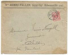 B665* - JOUR Et MOIS Manuscrit - RAPPOLTSWEILER - 1893 - Entête Henri FALLER Gourmet Ribeauvillé - - Poststempel (Briefe)