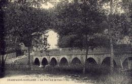 CHAMPAGNE SAINT HILAIRE - SAY - VIENNE  (86) -  PEU COURANTE CPA DE 1923. - Frankreich