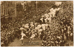 Binche, Le Carnaval, Les Gilles, Grand Rue (pk21792) - Binche